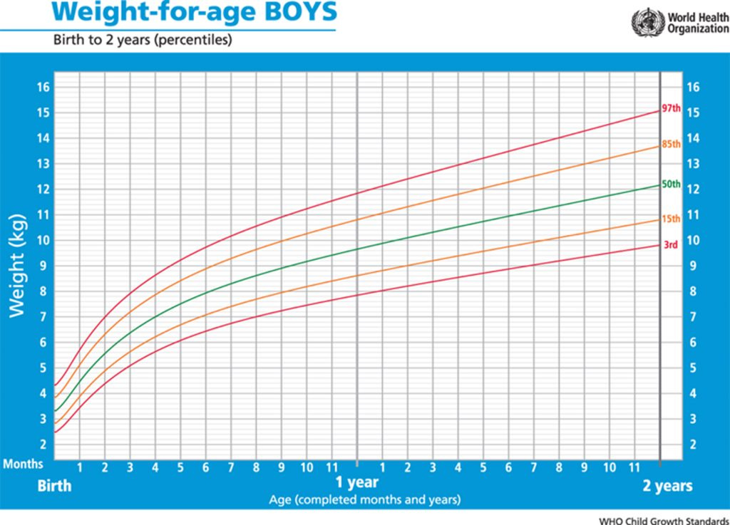 Printable growth charts 0 2 years boys - Thelovelymoms.com