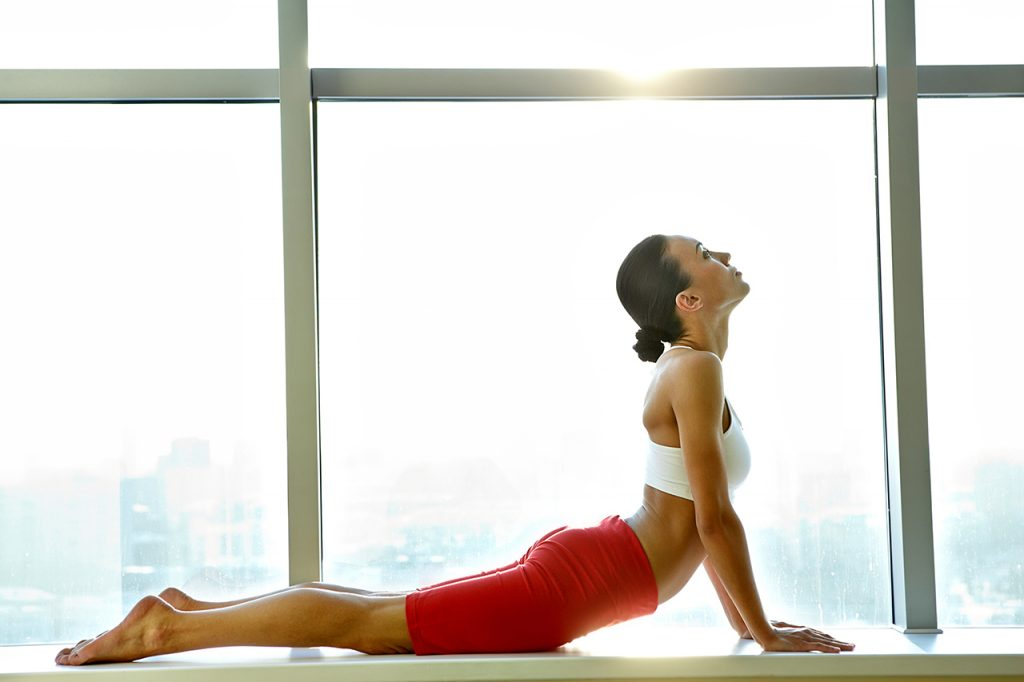 Do stretching to relief back pain