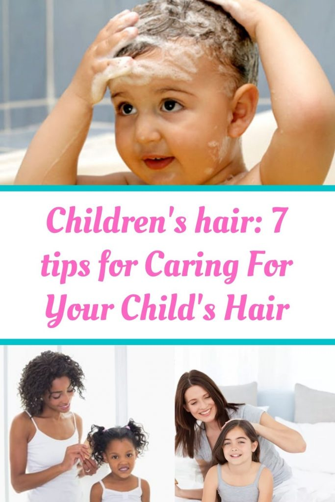 Children's hair deserves extra attention and specific products.